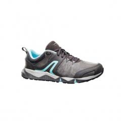 Skórzane buty damskie do szybkiego marszu PW 940 Propulse Motion szaro-niebieski. Szare obuwie sportowe damskie NEWFEEL, z poliesteru. Za 279.99 zł.