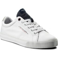 Tenisówki PEPE JEANS - New North Tennis PMS30422  Navy 595. Białe trampki męskie Pepe Jeans, z gumy. W wyprzedaży za 159.00 zł.