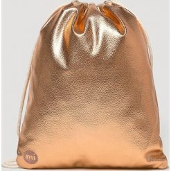 Mi-Pac - Plecak. Brązowe plecaki damskie Mi-Pac, z materiału. Za 129.90 zł.