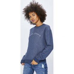 Pepe Jeans - Bluza Momo. Szare bluzy damskie Pepe Jeans, z aplikacjami, z bawełny. Za 279.90 zł.