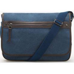 Torba na ramię - Granatowy. Niebieskie torby na ramię męskie Reserved. Za 129.99 zł.