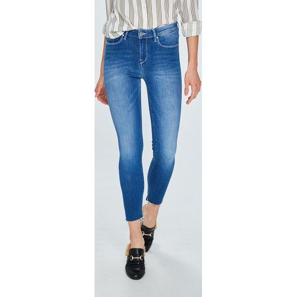 369fe380c306d Tommy Hilfiger - Jeansy Como - Niebieskie jeansy damskie Tommy ...