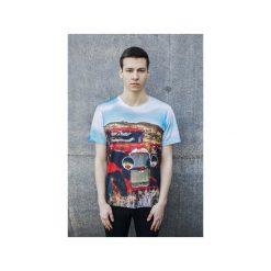 T-shirt Oldtimer. Szare t-shirty męskie Bahabay, z nadrukiem, z bawełny. Za 83.30 zł.