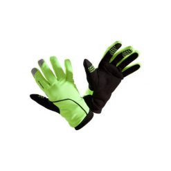 RĘKAWICZKI 500 ZIMOWE. Żółte rękawiczki damskie B'TWIN, na zimę. Za 59.99 zł.