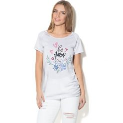 Colour Pleasure Koszulka CP-034 235 biała r. XL/XXL. Bluzki damskie Colour Pleasure. Za 70.35 zł.