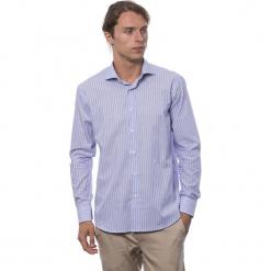 Koszula w kolorze jasnofioletowym. Fioletowe koszule męskie Roberto Cavalli, Trussardi, z klasycznym kołnierzykiem. W wyprzedaży za 219.95 zł.