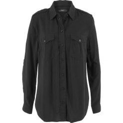 Bluzka koszulowa bonprix czarny. Bluzki damskie marki DOMYOS. Za 74.99 zł.