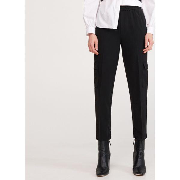 Spodnie z kieszeniami cargo Czarny