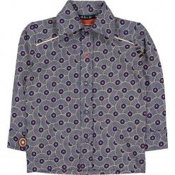 """Koszula """"Rags 'n' Run"""" w kolorze granatowo-białym. Koszule dla chłopców marki bonprix. W wyprzedaży za 82.95 zł."""