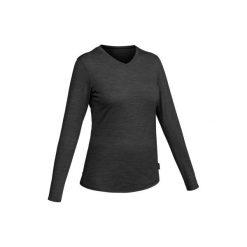 Koszulka z merynosa Techwool 155 damska. Czarne t-shirty damskie FORCLAZ, z wełny. Za 79.99 zł.