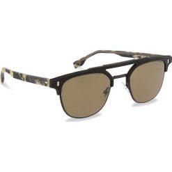 Okulary przeciwsłoneczne BOSS - 0968/S Matt Black 003. Czarne okulary przeciwsłoneczne damskie Boss. W wyprzedaży za 619.00 zł.