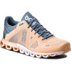 Buty ON - Cloudflow 000015 Almond/Grey 1230. Brązowe obuwie sportowe damskie On, z materiału. Za 649.00 zł.