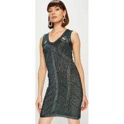 Answear - Sukienka. Szare sukienki damskie ANSWEAR, z dzianiny, eleganckie. Za 149.90 zł.