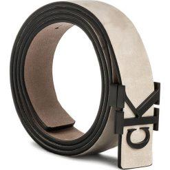 Pasek Damski CALVIN KLEIN - J Re-Issue Belt K60K604052 80 234. Brązowe paski damskie Calvin Klein, w paski, z nubiku. W wyprzedaży za 219.00 zł.