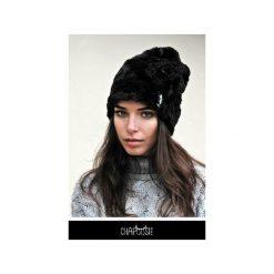 Czapka CHAPOOSIE BlackFury Beanie. Czarne czapki i kapelusze damskie Chapoosie, z bawełny. Za 116.10 zł.
