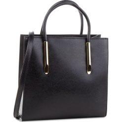 Torebka KAZAR - Lexie 36315-01-00 Black. Czarne torebki do ręki damskie Kazar, w paski, ze skóry. Za 849.00 zł.