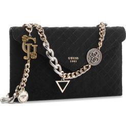 Torebka GUESS - HWMC71 11270 BLA. Czarne torebki do ręki damskie Guess, z materiału. Za 449.00 zł.