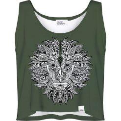 Colour Pleasure Koszulka damska CP-035 208 zielona r. XS-S. T-shirty damskie Colour Pleasure. Za 64.14 zł.