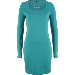 Sukienka ze stretchem, długi rękaw bonprix matowy kobaltowy. Sukienki damskie marki DOMYOS. Za 44.99 zł.