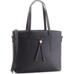Torebka JENNY FAIRY - RH0622 Black. Czarne torebki do ręki damskie Jenny Fairy, ze skóry ekologicznej. Za 99.99 zł.