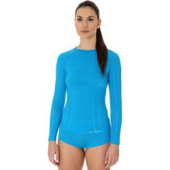 Brubeck Koszulka damska active wool niebieska r. L (LS12810). T-shirty damskie Brubeck. Za 189.74 zł.