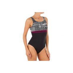 Strój jednoczęściowy pływacki Loran Nibi damski. Czarne kostiumy jednoczęściowe damskie NABAIJI. Za 59.99 zł.