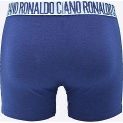 CR7 Cristiano Ronaldo - Bokserki (3-pack). Niebieskie bokserki męskie CR7 Cristiano Ronaldo, z bawełny. W wyprzedaży za 89.90 zł.