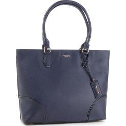 Torebka PUCCINI - BT28587 Granatowy 7A. Niebieskie torebki do ręki damskie Puccini, ze skóry ekologicznej. W wyprzedaży za 209.00 zł.