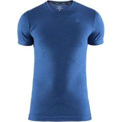 Craft Koszulka Sportowa Męska Fuseknit Comfort Ss Blue L. Niebieskie koszulki sportowe męskie Craft, na zimę, z krótkim rękawem. Za 119.00 zł.