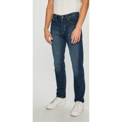 G-Star Raw - Jeansy 3301. Niebieskie jeansy męskie G-Star Raw. W wyprzedaży za 499.90 zł.