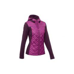 Sweter NH500 Hybrid damski. Fioletowe swetry damskie QUECHUA. Za 99.99 zł.