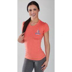 """Ground Game Sportswear Koszulka damska Rashguard Light """"Melange Orange"""" krótki rękaw Pomarańczowa r. XS. T-shirty damskie Ground Game Sportswear. Za 119.00 zł."""