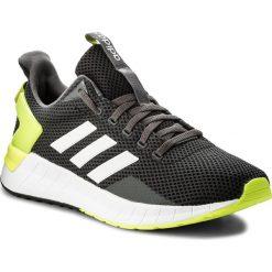 Buty adidas - Questar Ride DB1345 Carbon/Ftwwht/Syello. Szare buty sportowe męskie Adidas, z materiału. W wyprzedaży za 229.00 zł.