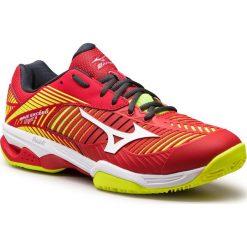 Buty MIZUNO - Wave Exceed Tour 3 Cc 61GC187462  Czerwony. Buty sportowe męskie marki B'TWIN. W wyprzedaży za 379.00 zł.