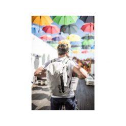 Plecak miejski FishDryPack CITY 20L Light Grey. Białe plecaki damskie Fish dry pack, z materiału, biznesowe. Za 209.00 zł.