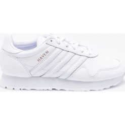 Adidas Originals - Buty Haven. Szare obuwie sportowe damskie adidas Originals, z materiału. W wyprzedaży za 449.90 zł.