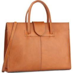 Torebka CREOLE - RBI10171 Koniak. Brązowe torby na ramię damskie Creole. W wyprzedaży za 279.00 zł.