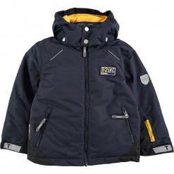 Kurtka narciarska w kolorze granatowym. Niebieskie kurtki i płaszcze dla chłopców Ticket to Heaven, z polaru. W wyprzedaży za 192.95 zł.