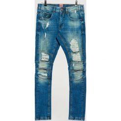 Jeansy SLIM - Niebieski. Niebieskie jeansy męskie Cropp. Za 139.99 zł.