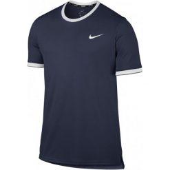 Nike Męska Koszulka Sportowa  M Nkct Dry Top Team Midnight Navy White Xl. Białe koszulki sportowe męskie Nike, z materiału. Za 179.00 zł.