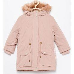 Ocieplana kurtka parka - Różowy. Kurtki i płaszcze dla dziewczynek marki Pulp. W wyprzedaży za 99.99 zł.