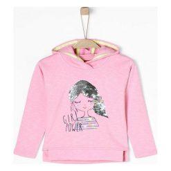 S.Oliver Bluza Dziewczęca 104 - 110 Różowy. Czerwone bluzy dla dziewczynek S.Oliver, z nadrukiem. Za 119.00 zł.