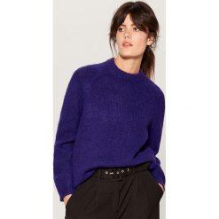 Sweter z wełną - Fioletowy. Fioletowe swetry damskie Mohito, z wełny. Za 149.99 zł.