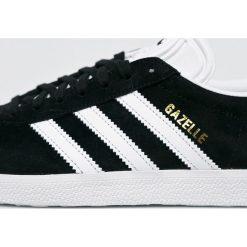 Adidas Originals - Buty Gazelle. Szare obuwie sportowe damskie adidas Originals, z materiału. Za 399.90 zł.