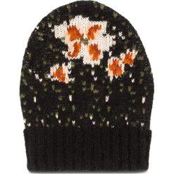 Czapka TWINSET - Cuffia OA8T8E Nero 03146. Czarne czapki i kapelusze damskie Twinset, z materiału. Za 289.00 zł.