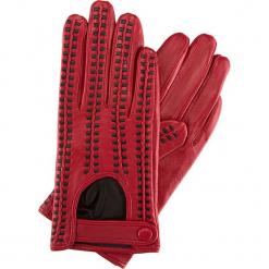Rękawiczki damskie 46-6-271-2T. Czerwone rękawiczki damskie Wittchen. Za 149.00 zł.