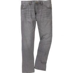 """Dżinsy Regular Fit Straight bonprix szary """"used"""". Szare jeansy męskie bonprix. Za 89.99 zł."""