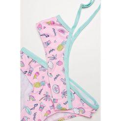 Blukids - Strój kąpielowy dziecięcy 104-128 cm. Bikini damskie marki bonprix. Za 49.90 zł.