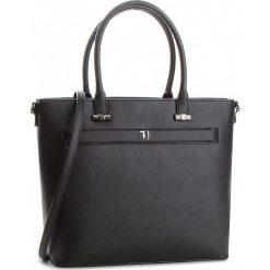 Torebka TRUSSARDI JEANS - Paprica 75B00558 K299. Czarne torebki do ręki damskie TRUSSARDI JEANS, z jeansu. W wyprzedaży za 479.00 zł.