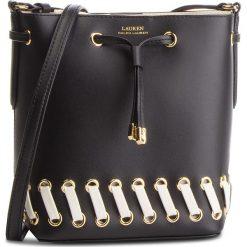Torebka LAUREN RALPH LAUREN - Debby II 431716017001 Black. Czarne torebki do ręki damskie Lauren Ralph Lauren, ze skóry. Za 1,089.00 zł.